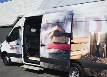 Whanganui District Library - Mobile Library Tacker banner image
